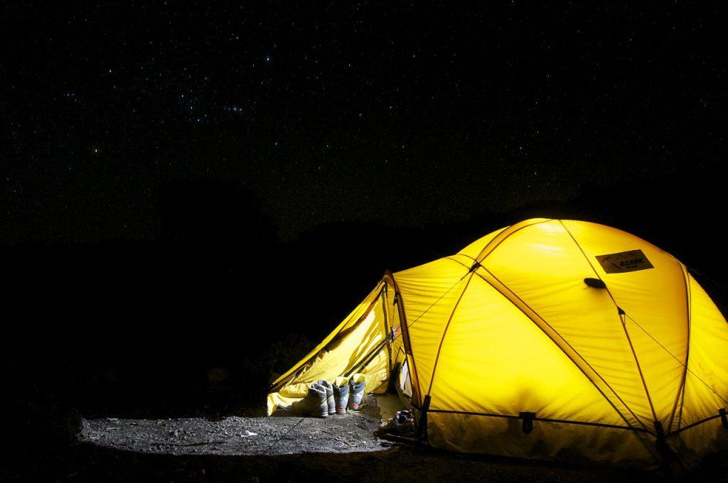 いくつになってもキャンプが大好き
